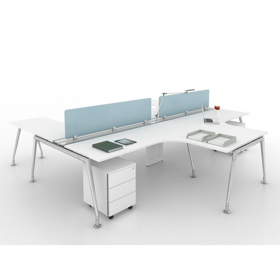 Open Concept Desking System 2