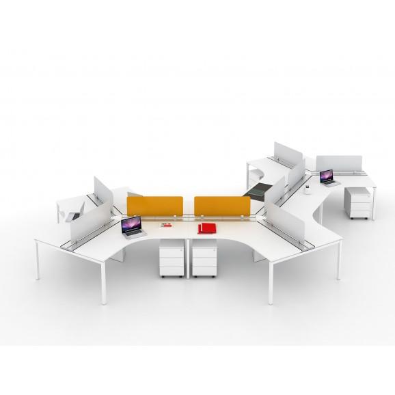 Open Concept Desking System 3