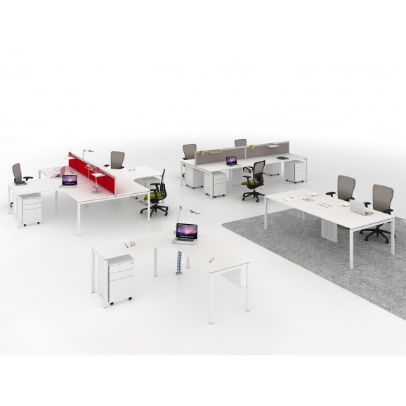 Open Concept Desking System 4