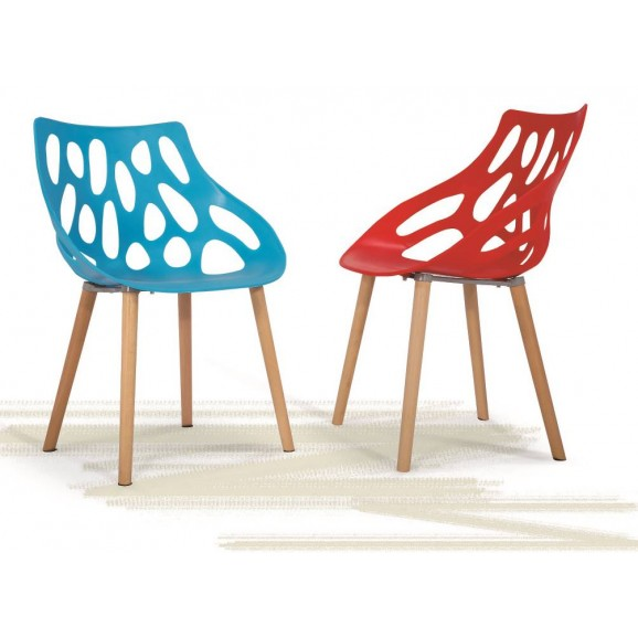 Polypropylene/ Acrylic Chair 1